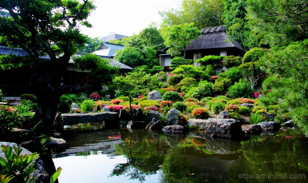 At a garden 等持院