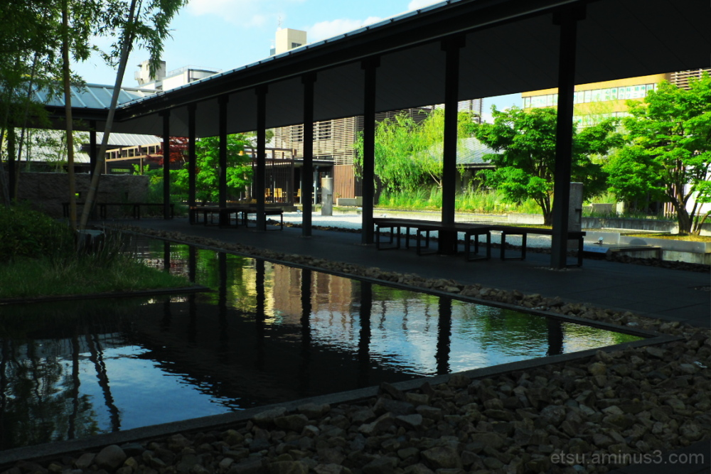 Oasis in the city 三条京阪