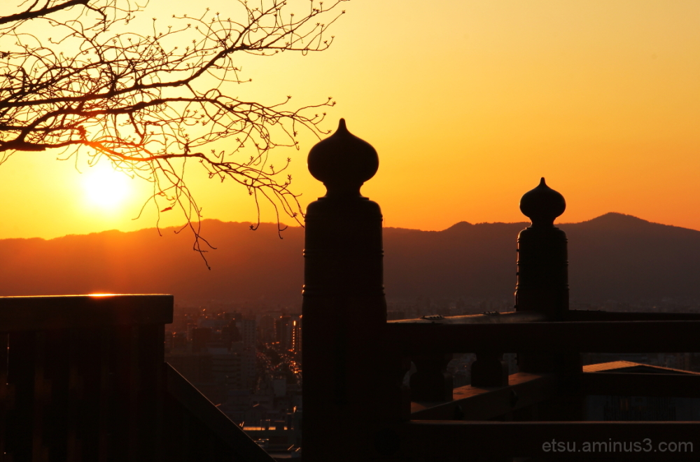 Before the sunset  清水寺