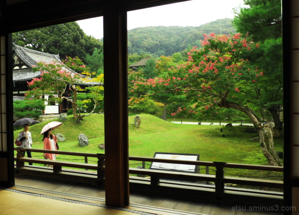 A rainy day (at a temple) 高台寺