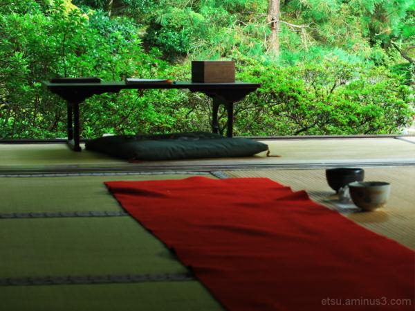 While sseing a garden....... 青蓮院