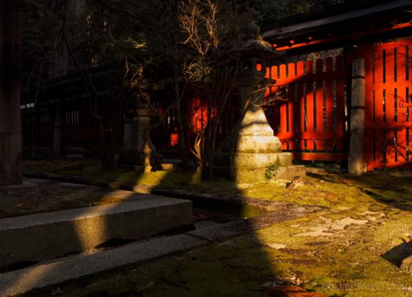 A calm day in winter.......... 赤山禅院