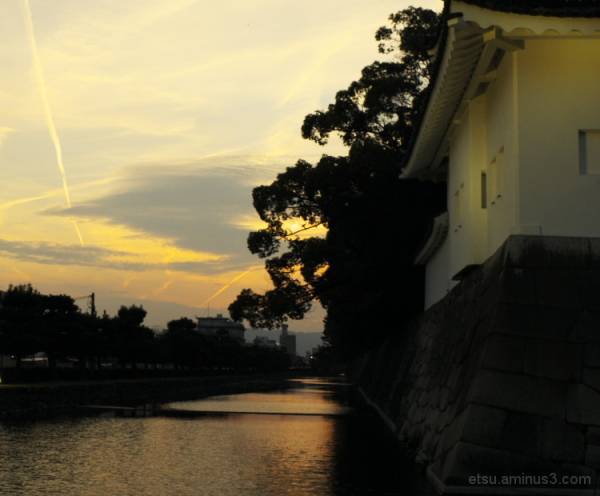 Toward the evening (Nijo castle)