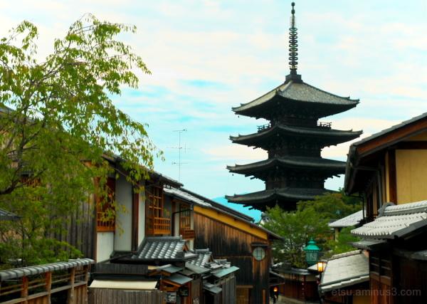 The pagoda............