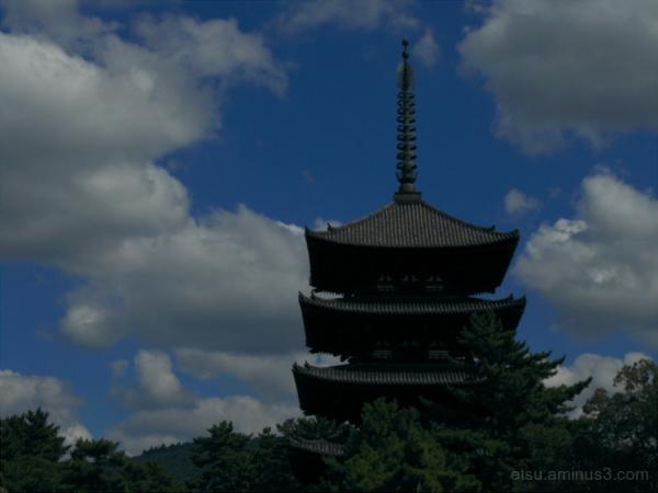 A pagoda in Nara