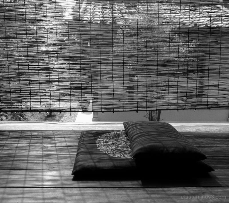 After meditation.........