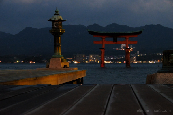 Before dawn (Itsushima shrine)