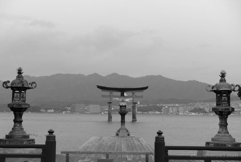 The world heritage site(Miyajima)