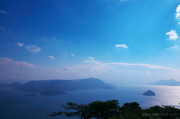 Seeing the Inland Sea of Japan(Setonaikai)......