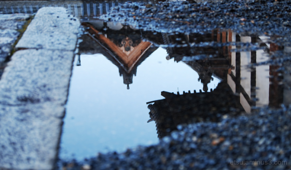 Reflections (at a temple)