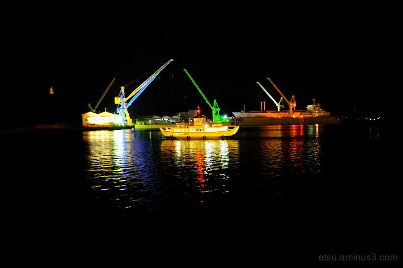 Illuminated port (Onomichi)