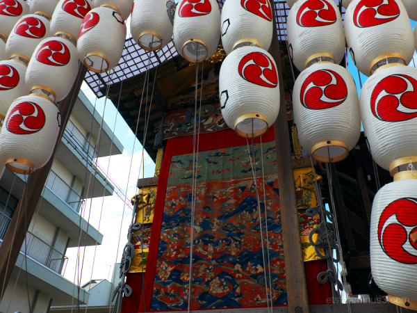 Gion-Festival float  Kyoto
