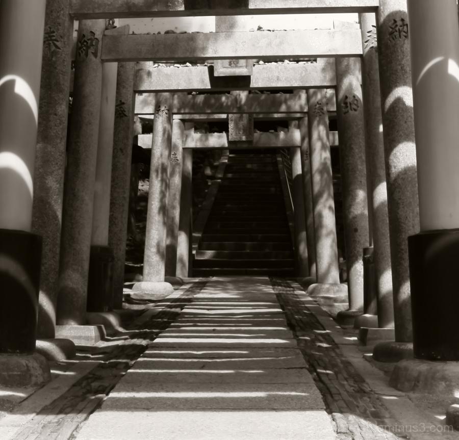 Gates of the shrine