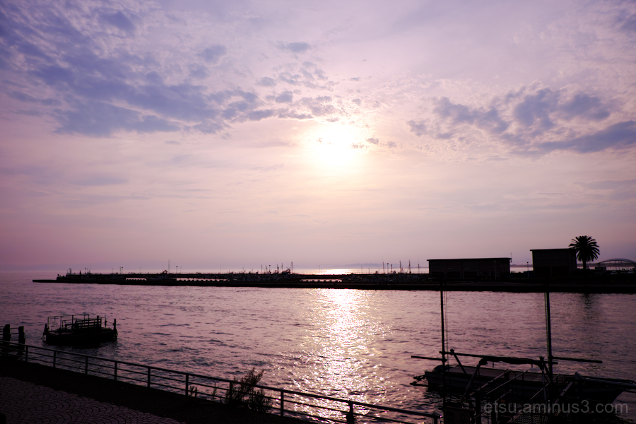 Sunset in Enoshima