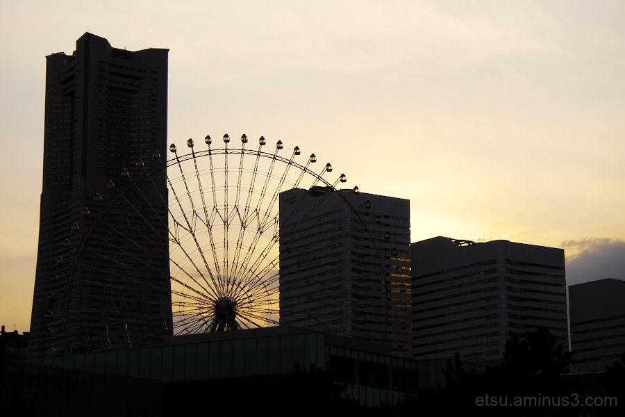 Toward the evening(Yokohama Minatomirai)