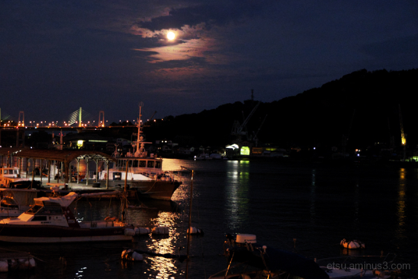 Moonlight in Onomichi, Hiroshima