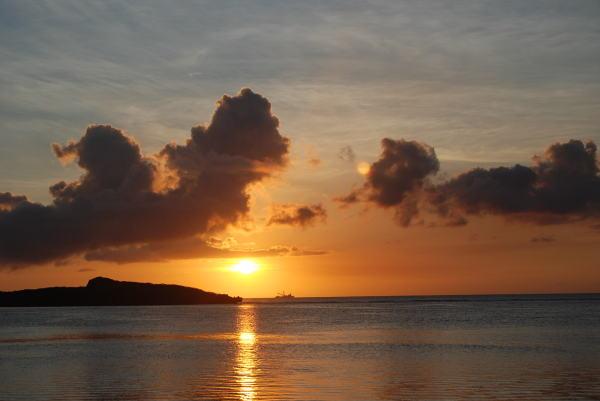 Island Sunset 1