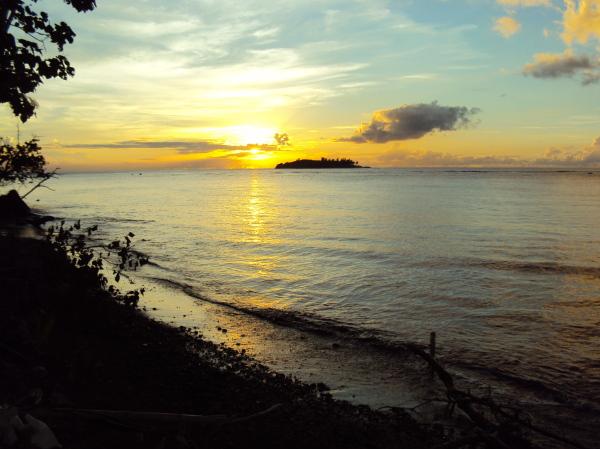 Beautiful Island sunset 2