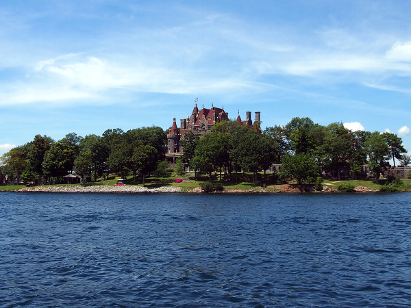 Boldt Castle at Heart Island