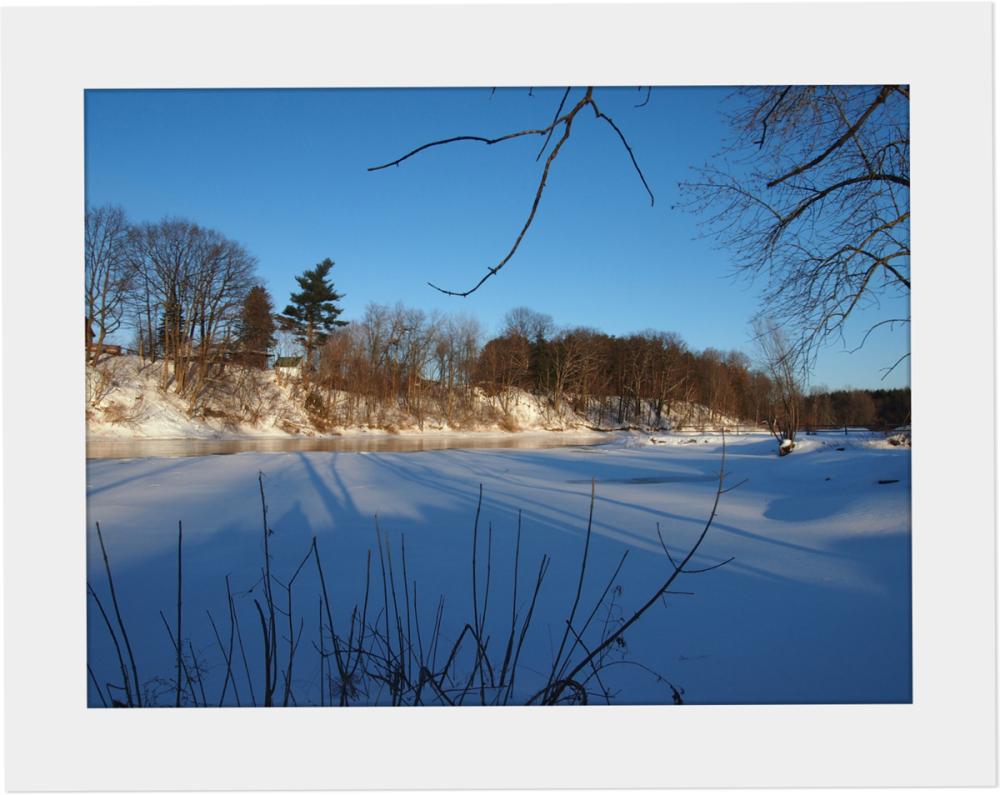Winter Walk - The Grasse River