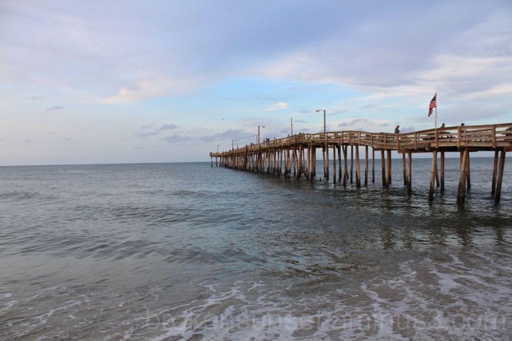 Nags Head fishing pair, Outer Banks NC