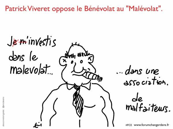 Patrick Viveret évoque le bénévolat et malévolat