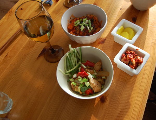 Red Miso Dragon bowl