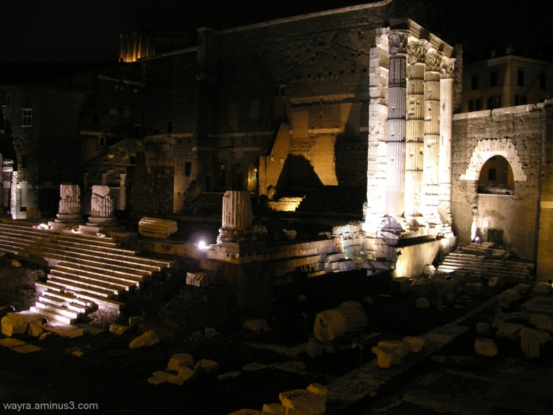 A night at the ancient ruins...