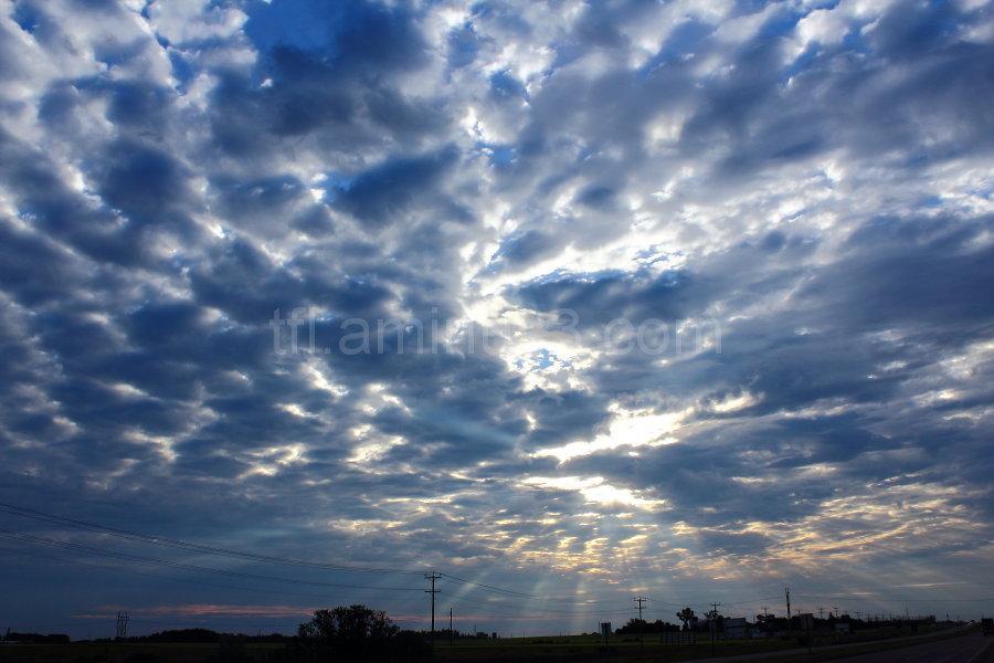 Sky in the morning