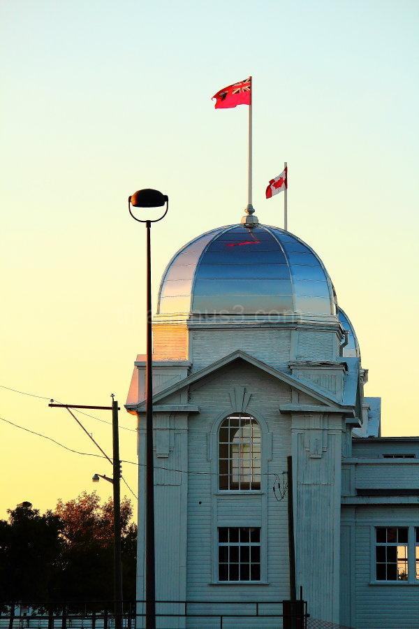 Dome building in Brandon Manitoba