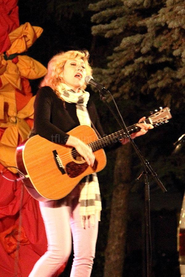Martha Wainwright at Brandon Folk Festival