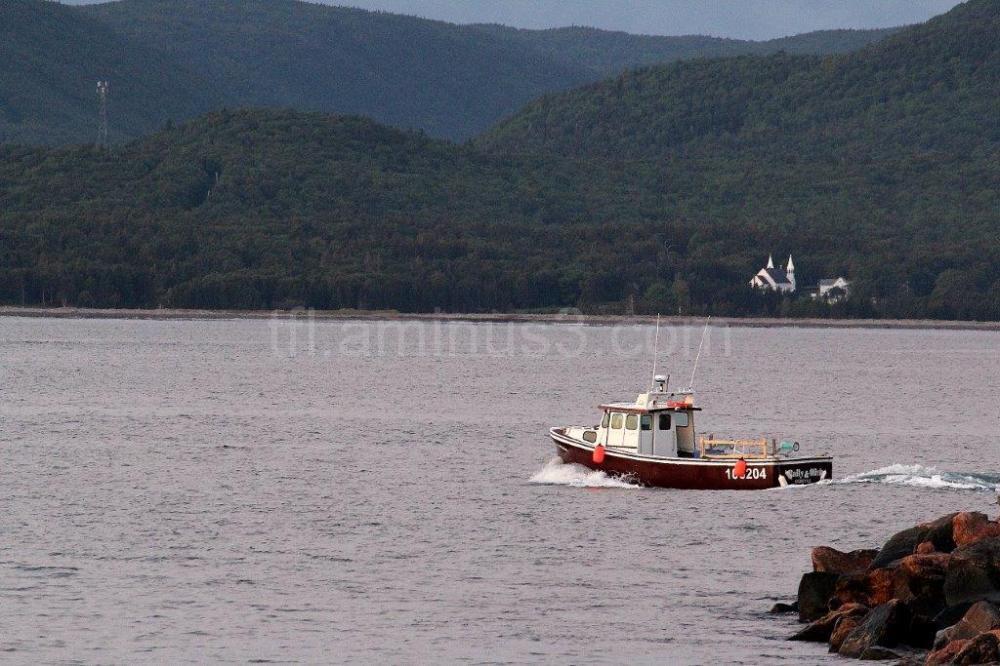 Fisherman in Cape Breton