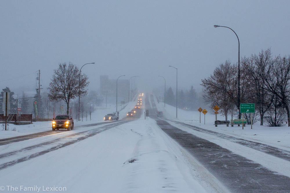 Storm in Brandon Manitoba