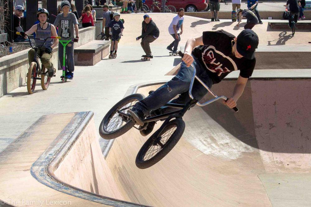 Bike doing flips