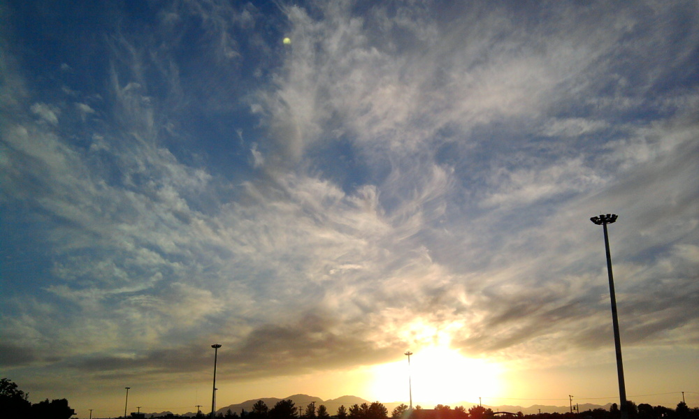 sky , sunset , آسمان , غروب
