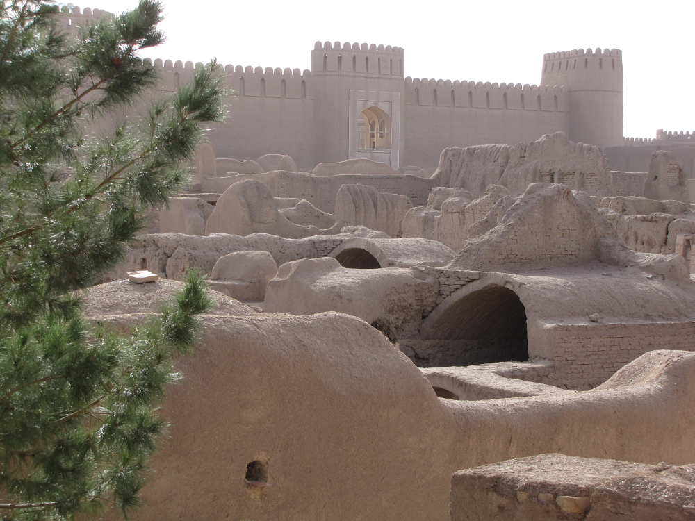 a shot of Old Castle in rayen siy kerman Iran