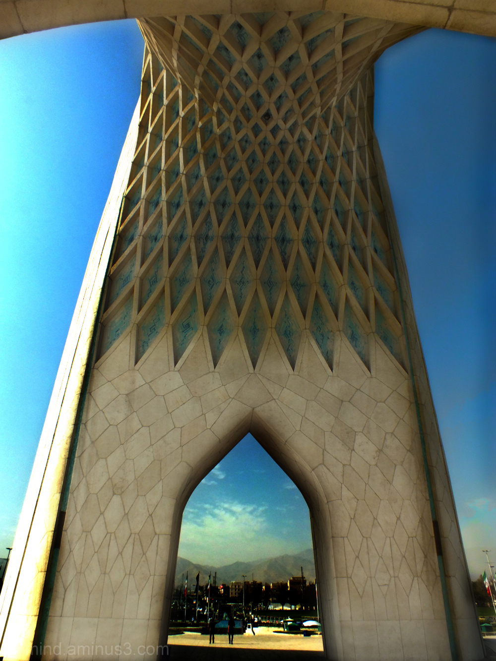 Different  viewfrom 'Azadi' Tower