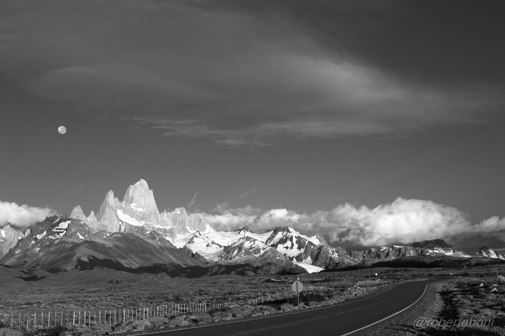the Fitz Roy at dawn