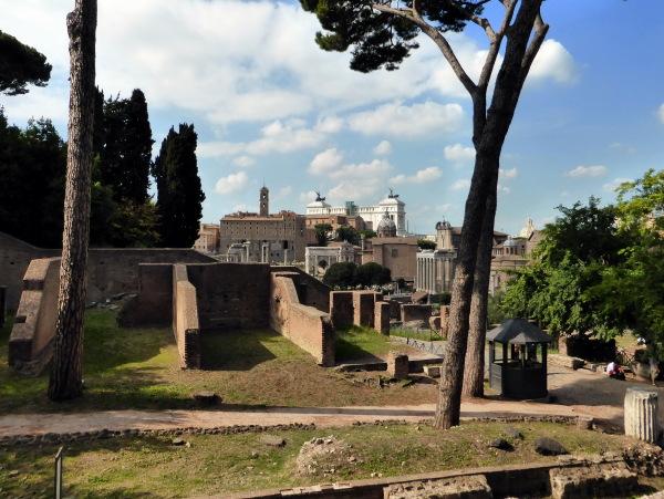 ROME -  LE FORUM DES ROMAINS   -1-