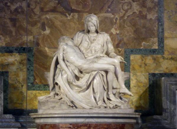 ROME : LA PIETA  de MICHEL ANGE