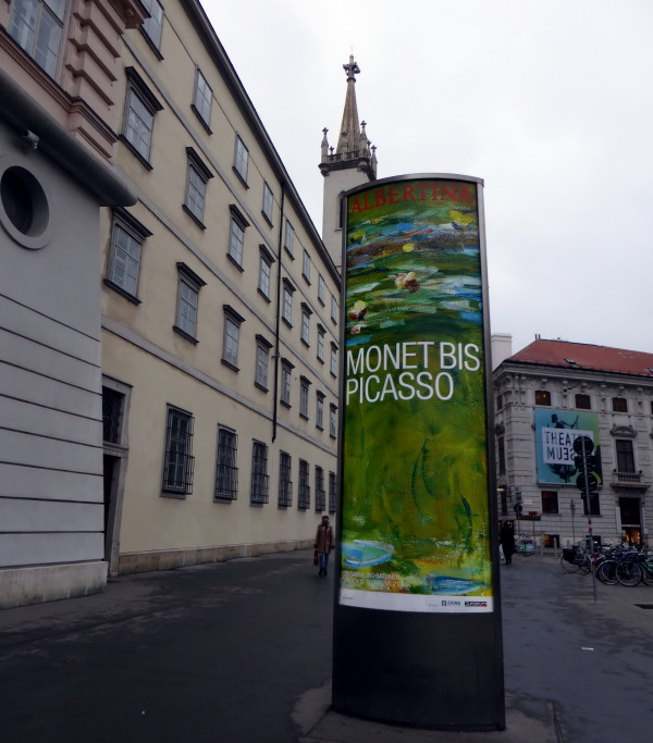 MUSEE ALBERTINA A VIENNE