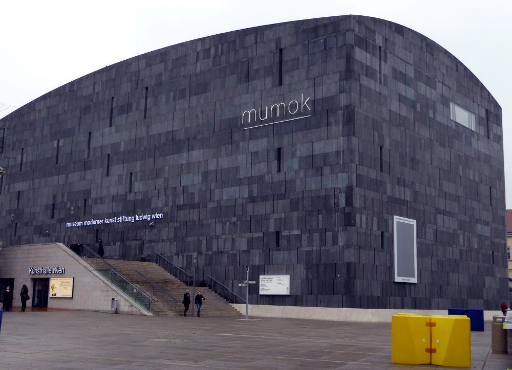 MUSEE D'ART MODERNE à VIENNE : LE MUMOK
