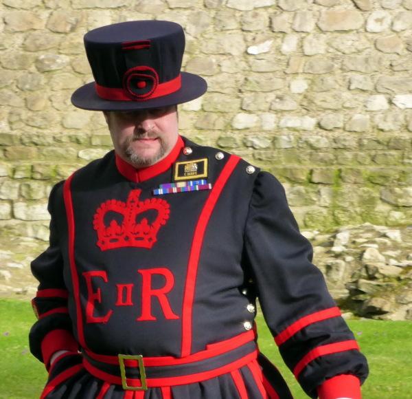Le gardien de la tour de Londres