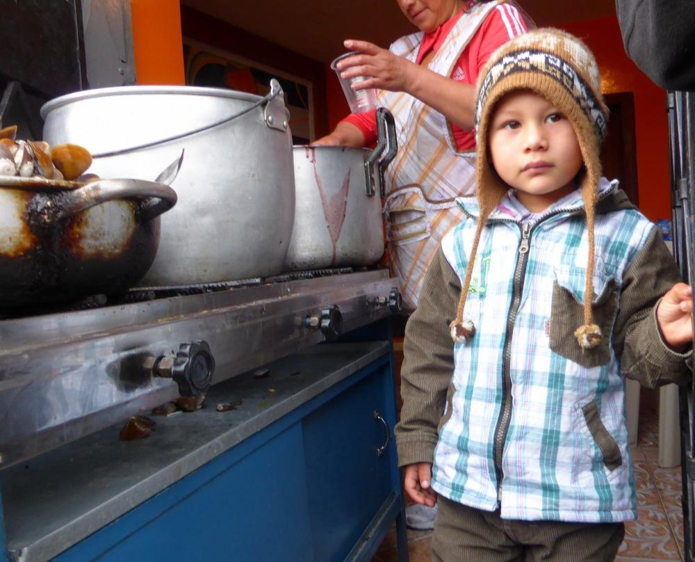 EQUATEUR et GALAPAGOS - 4 - ( Enfants des Andes)
