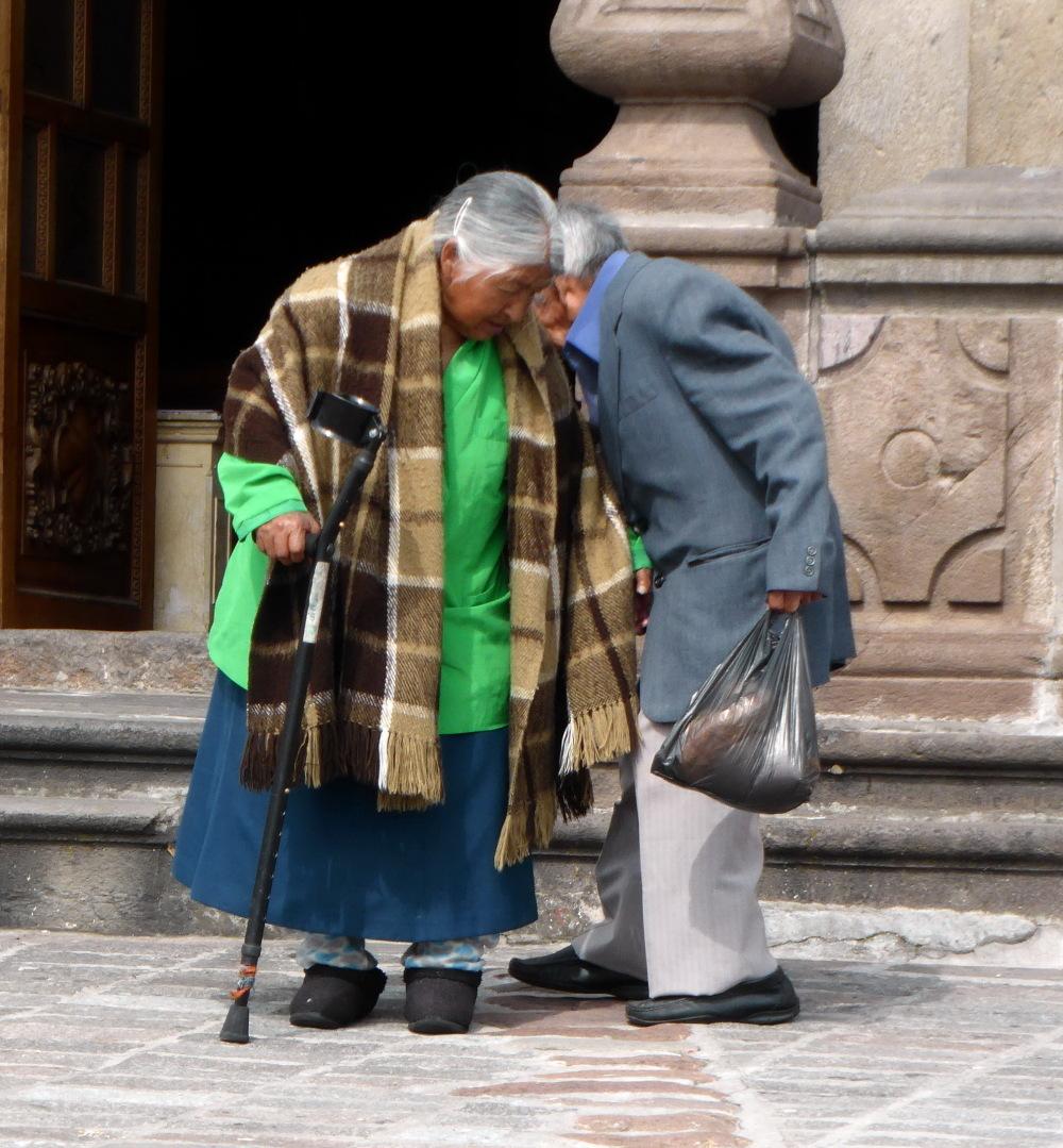 """EQUATEUR -  """" L'amour n'a pas d'âge...."""""""