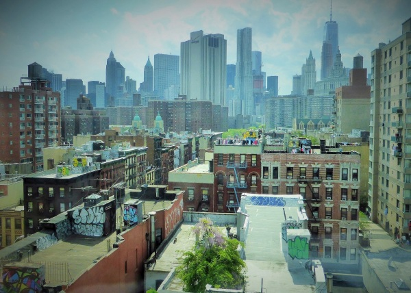 NEW-YORK  : visions urbaines  ....