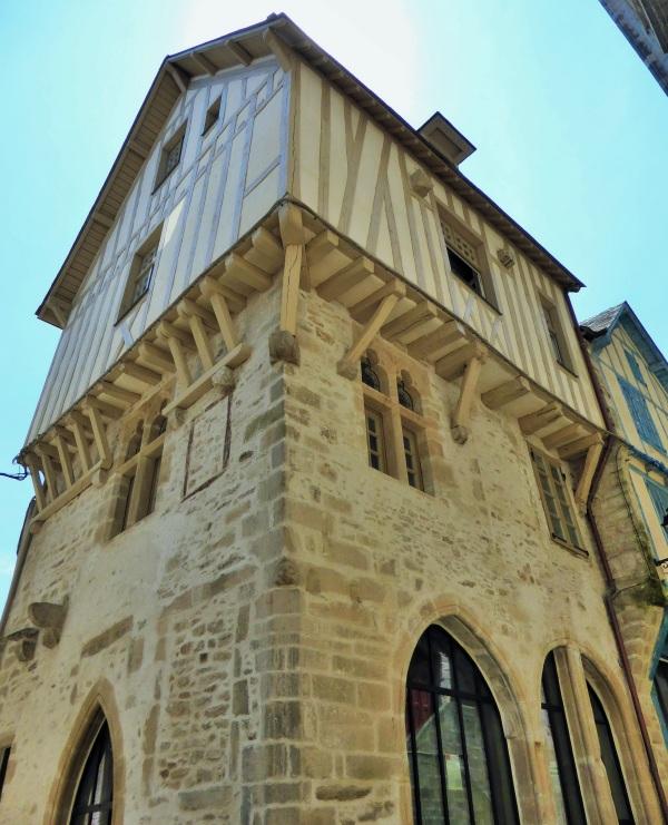 Un peu de Bretagne : dans les ruelles de Vannes