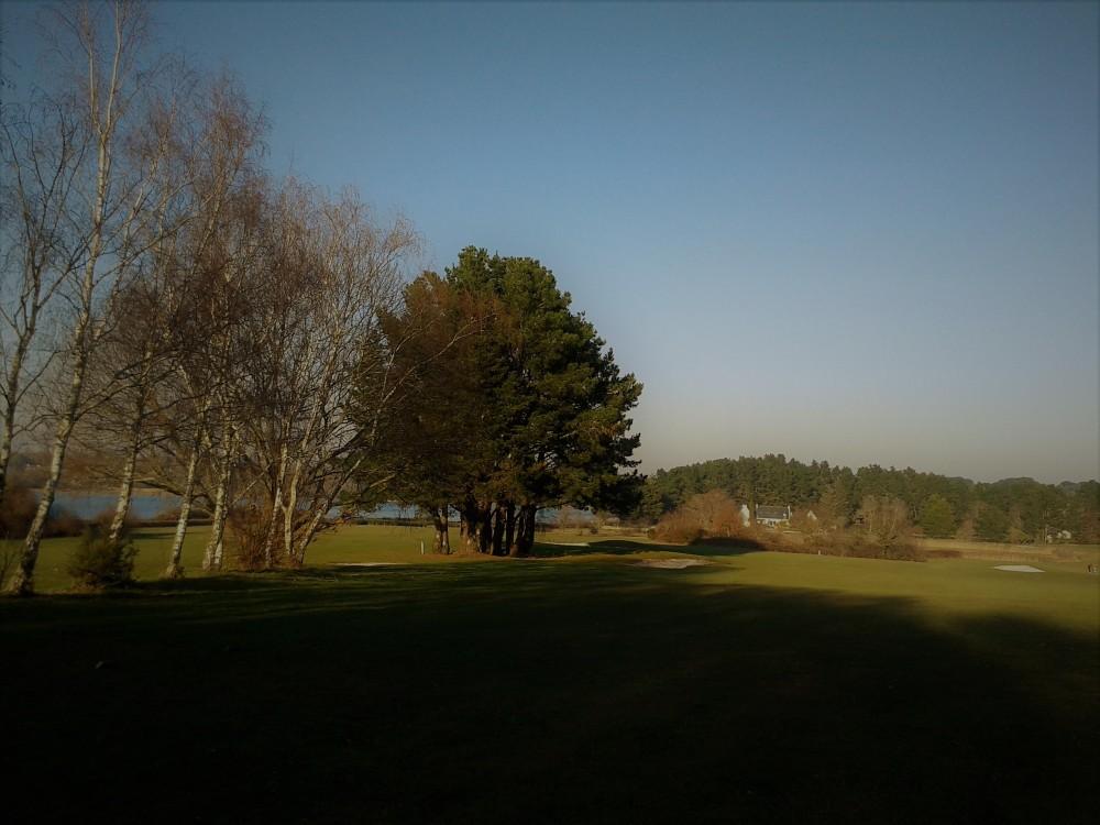 Mon golf .... en hiver