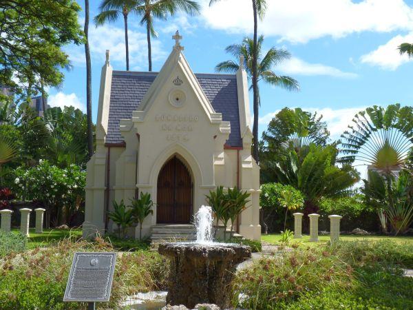 kawaihao教会にあるルナリオ王の霊廟