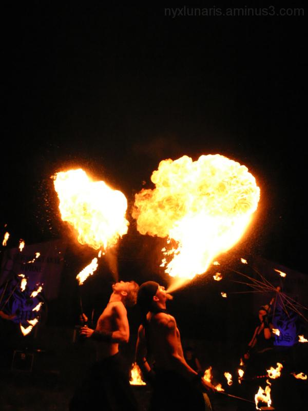 fire,  mediaeval, fire-eater